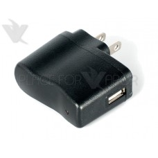 7's Micro Battery AC to USB Wall Charger - Black