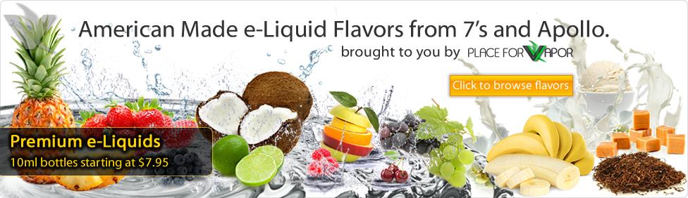 5. e-Liquid Flavors